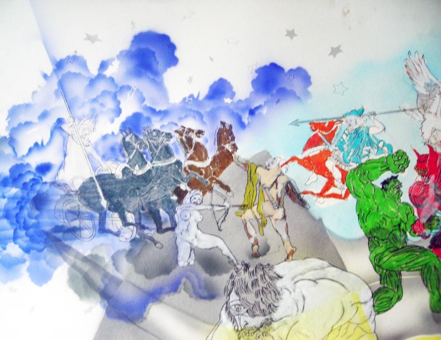 painting, drawings, big
