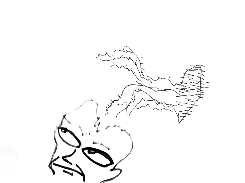 hemorohyde, drawings, collaboration