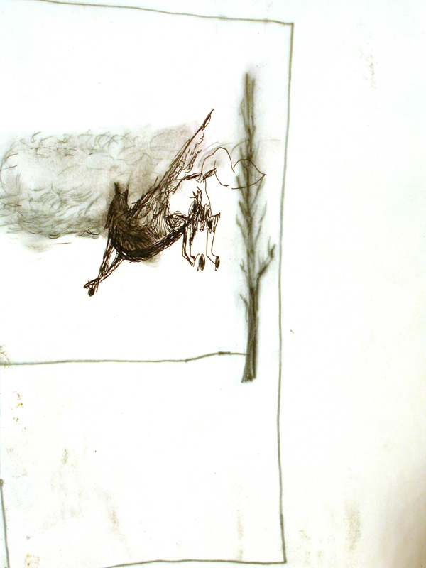 stratbook, drawings, glory holes, art totale, installation